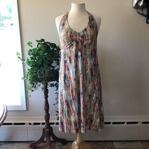 CAbi Halter Dress Size L